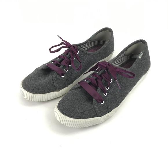 5c0404de5d3 Keds Shoes - Keds Low Top Wool Blend Gray Sneakers Size 8.5